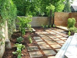 Paver Ideas For Backyard Paver Ideas Backyard Ideas Landscape Modern With Bark Mulch