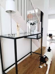 Ikea Foyer Ideas 26 Ikea Vittsjo Desk Hacks Comfydwelling Com Desk Pinterest
