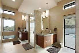 Modern Homes Bathrooms Contemporary Richland Villa Offers Stunning Views Of Surrounding