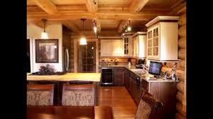 Log Home Interior Design Cool Log Cabin Kitchen Ideas Youtube