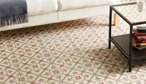 original style odyssey patterned floor tiles rubble tile
