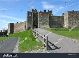 dover castle dover castle medieval fortress united kingdom stock photo