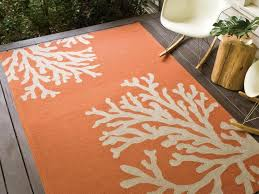 Coral Outdoor Rug by Outdoor Rug