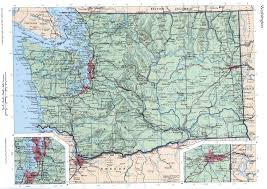Map Of Washington by Washington State Mapfree Maps Of Us