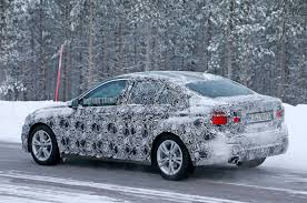 spied front wheel drive bmw 1 series hits the snow