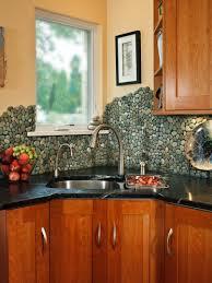 kitchen an easy backsplash made with vinyl tile hgtv examples of