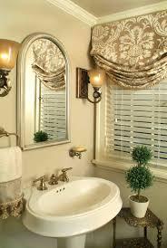 bathroom bathroom window treatments for better bathing experience