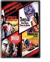 amazon com 4 film favorites draculas dracula a d 1972 dracula