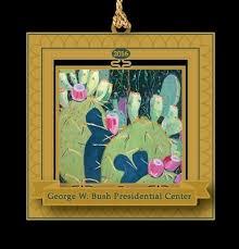 george w bush presidential center store 2016 bush center ornament