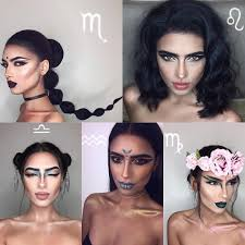 zodiac makeup for halloween or just to look at the beautiful