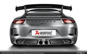 Porsche 918 Exhaust - carbon fiber u2013 p9xx