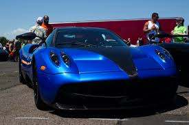blue pagani pagani huayra blue cf cf nose unknown interior us spec