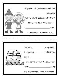thanksgiving printable mini book by grade fanatics tpt