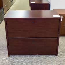 Mahogany Lateral File Cabinet Used National 2 Drawer Lateral File Cabinet Mahogany Fil1541 013