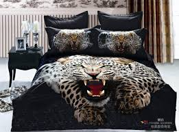 best mens bedding with 5pc cheetah king duvet cover and machine