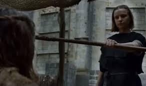 Arya Goes Blind Game Of Thrones Season 6 New Clip Shows Arya Stark Begging On The