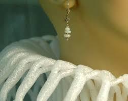 are leverback earrings for pierced ears opal ear weights etsy