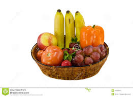 fruit and vegetable baskets fruit and vegetable in basket stock image image of grape crop