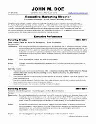 Sample Resume For Marketing Manager by Resume Format For Marketing Manager Sample Resume Format