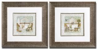 framed wall art set of 3 shenra com