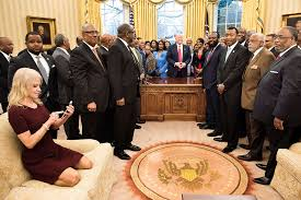 trump oval office rug kellyanne conway reactions to oval office couch pic were u0027vicious