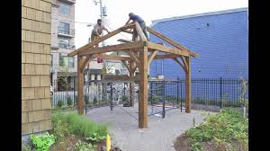 gillis u0026 company timber frames a timber frame gazebo for