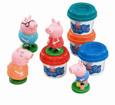 Peppa Pig Play Doh Peppa Pig Family Set Co Uk Toys