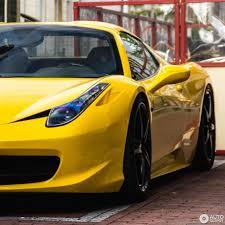 Ferrari 458 Yellow - ferrari 458 spider 5 may 2017 autogespot