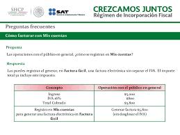 iva en mexico 2016 preguntas frecuentes de regimen de incorporacion fiscal mexico