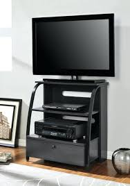 tall corner stand bedroom bush visions black tall corner tv stand