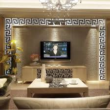 mirrored wall art stickers shenra com aliexpress com buy 10 pcs home decor puzzle labyrinth wall art