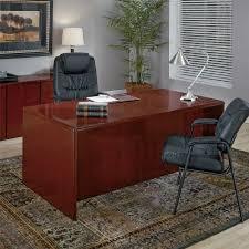 72 x 36 desk double pedestal desk 72x36 in dark cherry wood