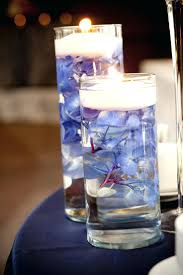 water centerpieces led table candles 17 best ideas about water centerpieces on