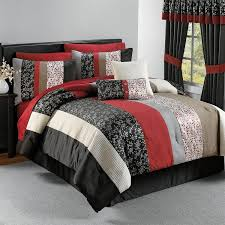 Red And White Comforter Sets Comforter Red White Comforter Sets Elegant Bedroom Ideas Red
