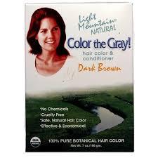 light mountain natural hair color black light mountain color the gray natural hair color and conditioner
