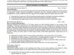 Realtor Resume Example by Surprising Real Estate Resume 12 Example Resume Example