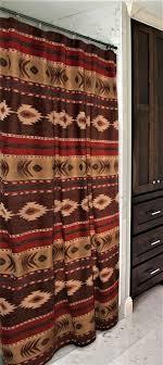 Southwestern Style Curtains Desert Southwestern Shower Curtain Bathroom Stuff