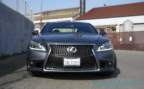 lexus is or bmw 3 lexus ls 460 f sport review slashgear