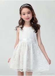 hot new years dresses 2018 2017 baby girl party dress children new model hot sale a line