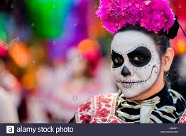 halloween in mexico city day of the dead mexico procession stock photos u0026 day of the dead