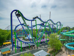 Fright Fest Six Flags New England The Joker New England U0027s First 4d Free Fly Coaster Now Open At Six