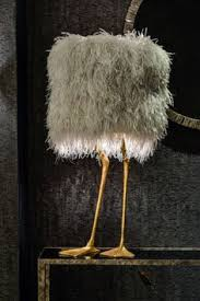 ostrich feather l shade the feather l edition piece by a modern grand tour an