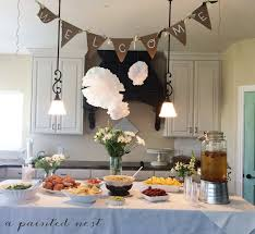 woodland themed baby shower decorations a painted nest event woodland themed baby shower