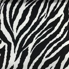 Drapery And Upholstery Fabric Safari Baby Zebra Short Pile Velvet Upholstery Fabric By The Yard