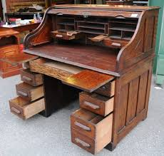 Value Of Antique Roll Top Desk Print Page Oak Roll Top Desk Desks U0026 Library Tables