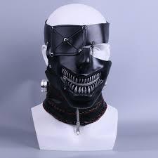 cool masks newest tokyo ghoul 2 kaneki ken masks zipper adjustable