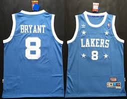 lakers light blue jersey los angeles lakers 8 kobe bryant light blue throwback swingman jersey