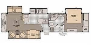 Fleetwood 5th Wheel Floor Plans Rockwood 5th Wheel Floor Plans Valine