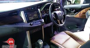 Innova 2014 Interior Toyota Innova Crysta 2 4 Vx Mtprice In India Review Pics Specs