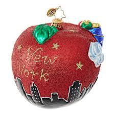 christopher radko ornaments radko destinations santa s big apple